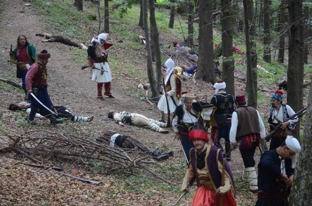 Последната битка  на четата на Хаджи Димитър и Стефан Караджа